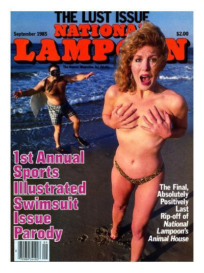 National Lampoon, May 1985 - 1st Annual Sports Illustrated Swimsuit Issue Parody--Art Print