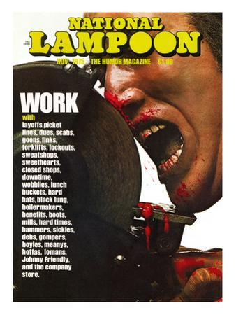 National Lampoon, November 1975 - Work