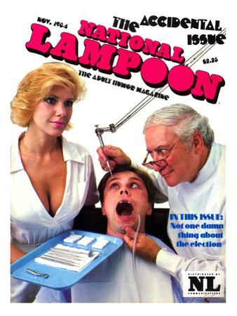 National Lampoon, November 1984 - The Accidental Issue