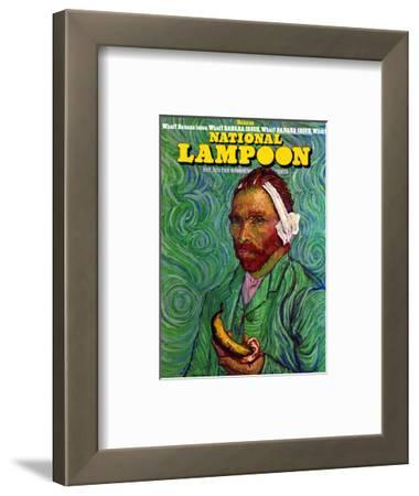 National Lampoon, October 1973 - Banana Issue, Von Gogh's Ear