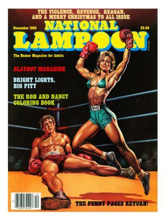 National Lampoon, September 1985 - Slayboy Magazine