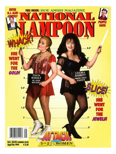 National Lampoon, September and October 1994 - Attack of the 5 ft 2 Women--Art Print