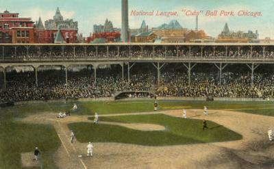 National League, Cubs Ball Park, Chicago