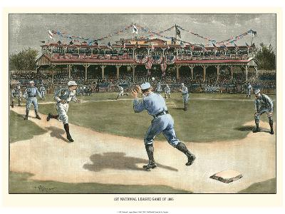 National League Game 1886-Snyder-Art Print