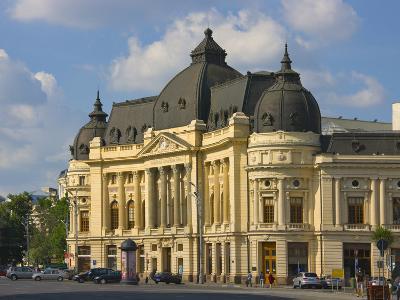 National Library, Bucharest, Romania-Keren Su-Photographic Print