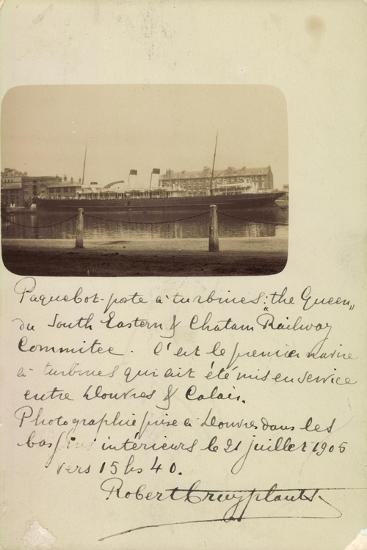 National Line, Steamship Co., Steamer, the Queen--Giclee Print