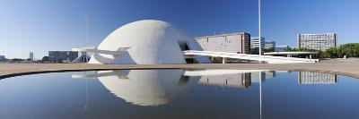 National Museum, Brasilia, Federal District, Brazil-Ian Trower-Photographic Print