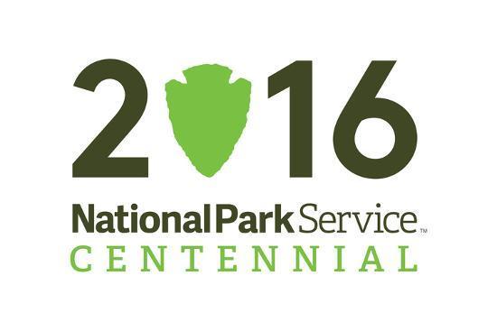 National Park Service Centennial - Logo-Lantern Press-Art Print