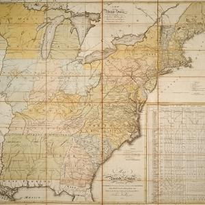 National Postal Museum: 1796 Postal Route Map