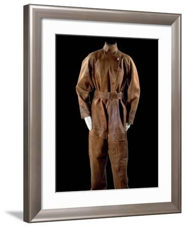 National Postal Museum: Amelia Earhart's Flight Suit--Framed Photographic Print