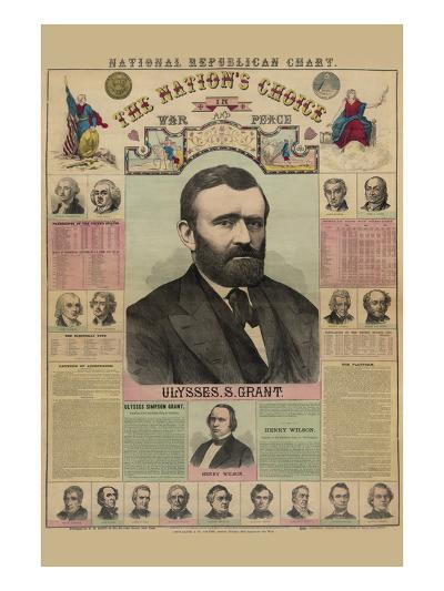 National Republican Chart-H^ H^ Lloyd-Art Print