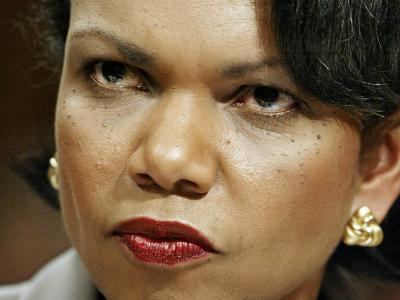 National Security Adviser Condoleezza Rice Testifies--Photographic Print