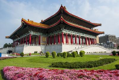 National Theatre on the Grounds of the Chiang Kai-Shek Memorial Hall, Taipeh, Taiwan-Michael Runkel-Photographic Print