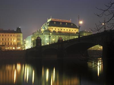 National Theatre, Prague, Czech Republic--Photographic Print