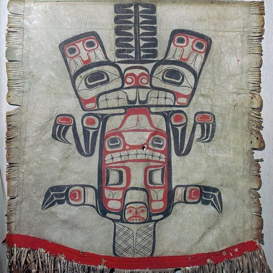 Native American dance apron. Artist: Unknown-Unknown-Giclee Print