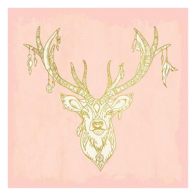 Native Buck-Kimberly Allen-Art Print