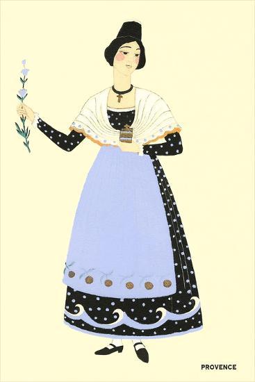 Native Costume of Provance--Art Print