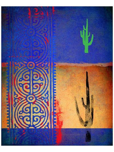 Native Desert I-Parker Greenfield-Art Print