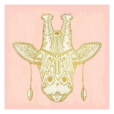 Native Giraffe-Kimberly Allen-Art Print