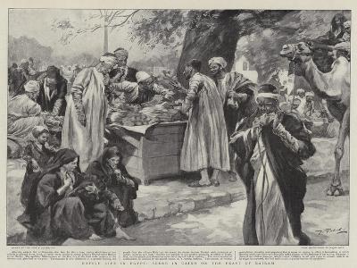 Native Life in Egypt, Scene in Cairo on the Feast of Bairam--Giclee Print