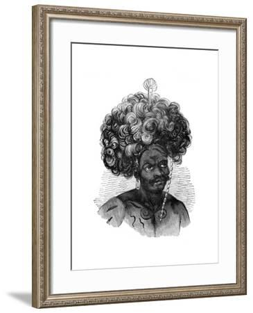 Native of the Papua Islands, 1848--Framed Giclee Print