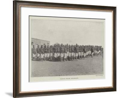 Native Police, Bulawayo--Framed Giclee Print