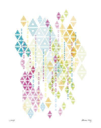 Native Triangles-Adrienne Wong-Giclee Print