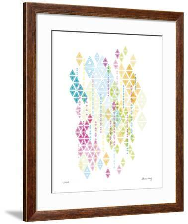 Native Triangles-Adrienne Wong-Framed Giclee Print