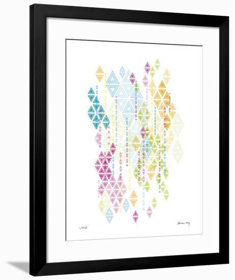 Native Triangles-Adrienne Wong-Framed Giclee Print