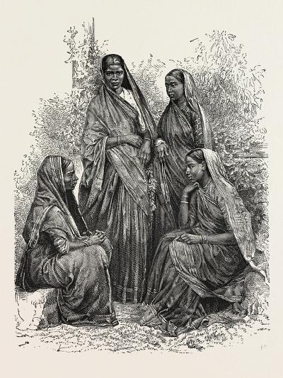 Native Women (Bombay Presidency)--Giclee Print