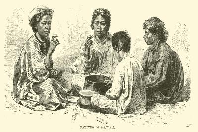 Natives of Hawaii--Giclee Print