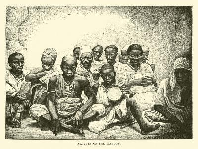 Natives of the Gaboon--Giclee Print