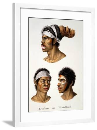 Natives of the New Holland (Australia)--Framed Giclee Print
