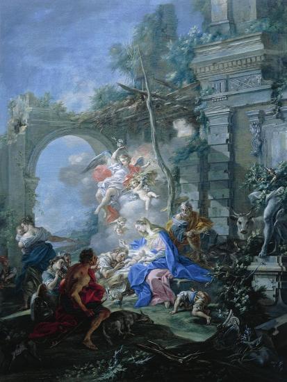 Nativity, 1764-Filippo Falciatore-Giclee Print