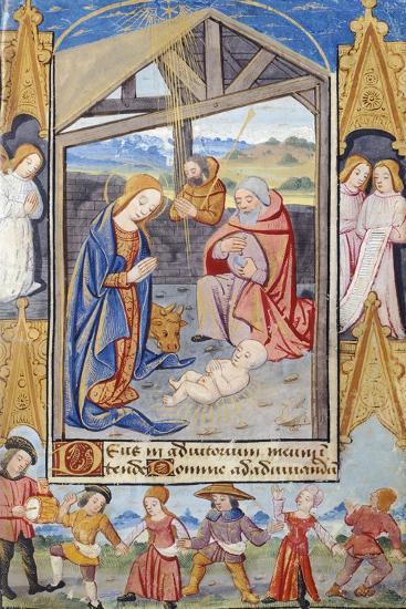 Nativity and Popular Dances--Giclee Print
