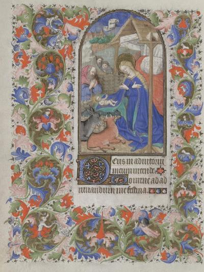 Nativity (Book of Hour), 1440-1460--Giclee Print