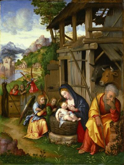 Nativity, Ca 1515-Lorenzo Leonbruno-Giclee Print
