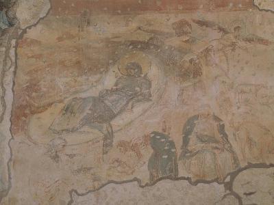 Nativity, Church of Santa Maria Foris Portas, Castelseprio, Italy--Giclee Print