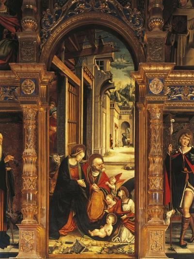 Nativity, Detail from 16th Century Altarpiece--Giclee Print