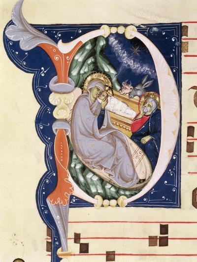 Nativity, Monastery of San Jacopo Di Ripoli, Early 14th Century-Cimabue-Giclee Print