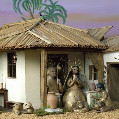 Nativity, Nativity Scene, 1984, Mexico--Giclee Print