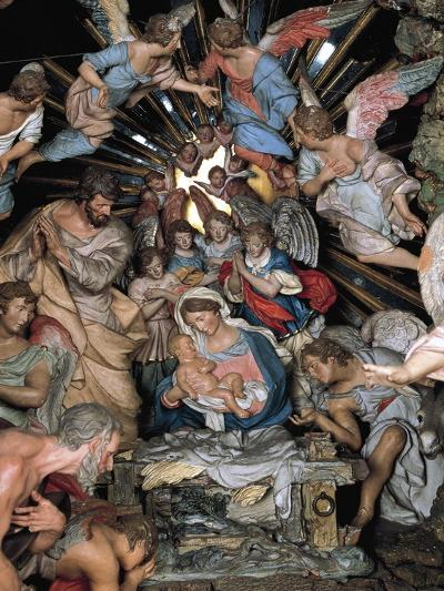 Nativity, Nativity Scene of Marquis of Belas, Work by Machado De Castro--Giclee Print