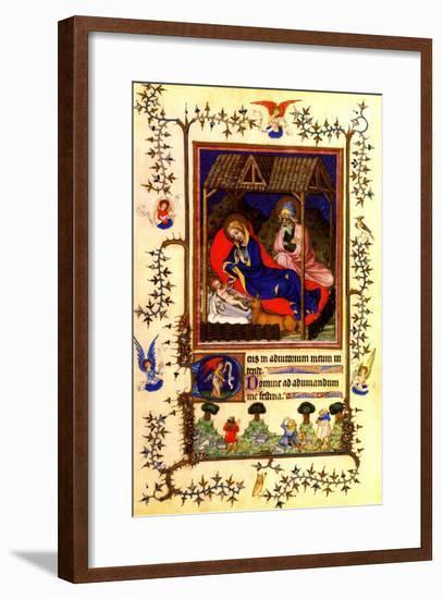 Nativity of Christ--Framed Art Print