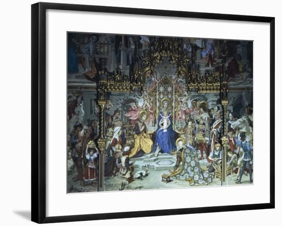 Nativity of Jesus, 1892, Ludwig Seitz--Framed Giclee Print