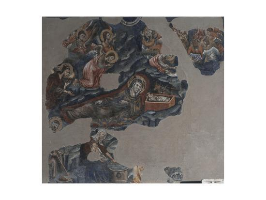 Nativity of Jesus Attributed to Montano D'Arezzo--Giclee Print