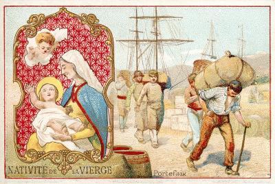 Nativity of the Virgin--Giclee Print