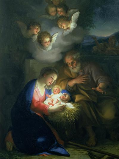 Nativity Scene-Anton Raphael Mengs-Giclee Print