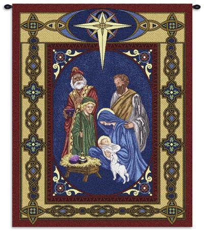 Nativity--Wall Tapestry