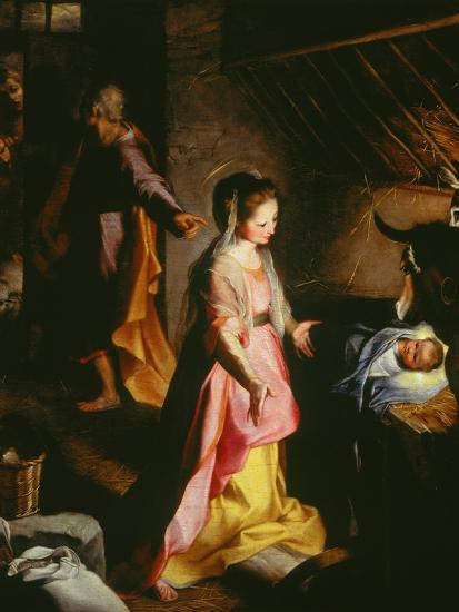 Nativity-Federico Barocci-Giclee Print