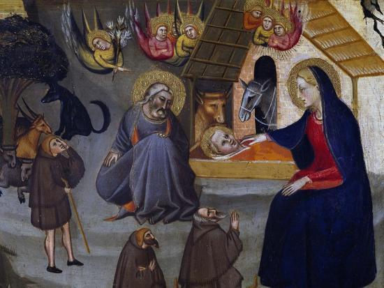 Nativity-Giovanni del Biondo-Giclee Print